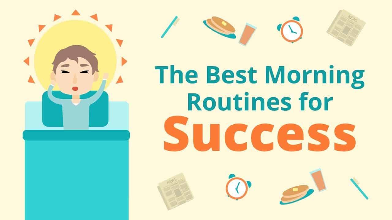 La morning routine del successo